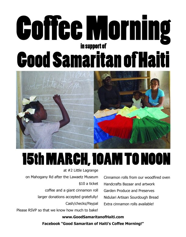 Flier for coffee morning-01